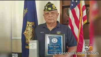 Montebello Army Vet Pete Ramirez Honored By Family and Friends For A Life Of Service And Duty - CBS Los Angeles
