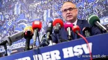 Hamburger SV: Finanzvorstand vermeldet riesigen Umsatzeinbruch - DIE WELT