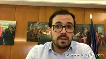 Alberto Garzón abrió el encuentro virtual felicitándose por tener en España la regulación más restrictiva sobre publicidad del Juego - AZARplus