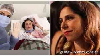 """Tamara Garzón y su abuela de 99 años: """"Sobrevivió al COVID y a una operación de cadera al mismo tiempo"""" - Revista Pronto"""