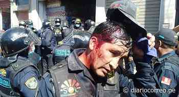 Comerciantes atacan con objetos contundentes a serenos de Juliaca - Diario Correo