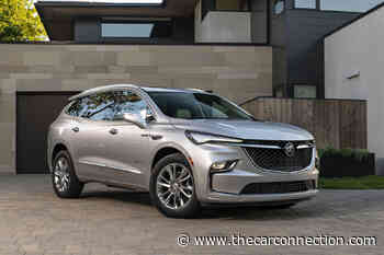 2022 Buick Enclave SUV comes around with standard safety features