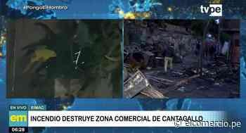 Incendio en Cantagallo: 25 familias damnificadas piden ayuda - El Comercio Perú