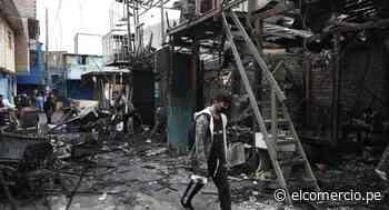 Rímac: así luce zona comercial de Cantagallo tras incendio que dejó decenas de familias sin hogar | FOTOS - El Comercio Perú