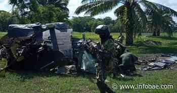 Cinco policías murieron en accidente de helicóptero en Cantagallo, Bolívar - infobae