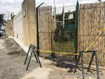 PONT-SAINT-ESPRIT Un feu se déclare cette nuit juste devant la grille de la gendarmerie - Objectif Gard