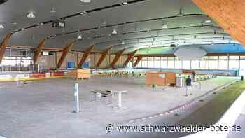 Testzentrum in Baiersbronn - Am Donnerstag Startschuss in Eislaufhalle - Schwarzwälder Bote
