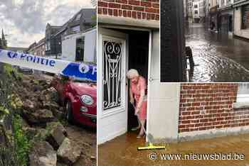 Onweer gaat fel tekeer in Vlaams-Brabant: meerdere straten onder water, ook vaccinatiecentrum loopt onder