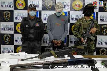 Condenaron a 7 años a cabecilla del frente Alfonso Cano, Segunda Marquetalia - Ecos del Combeima