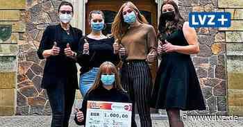 Dinter-Oberschule Borna sammelt Spenden und gewinnt selbst Geld - Leipziger Volkszeitung