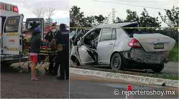 Ocho lesionados en aparatoso hecho de tránsito en Ticul - Reporteros Hoy