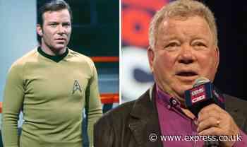 William Shatner: Star Trek actor, 90, plans to beam 3D hologram of himself on gravestone - Express