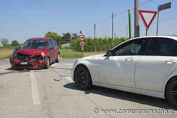 Pauroso incidente a Budrio di Cotignola: due feriti - Corriere Romagna
