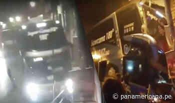 La Oroya: Bus interprovincial se despista y se empotra contra inmueble - Panamericana Televisión