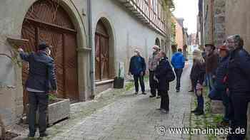 Von Touristen, Pilgern und Fachwerk: Neuheiten in Ochsenfurt - Main-Post