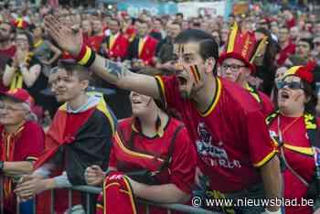 OVERZICHT: Hier kan je in de Kempen op groot scherm voor de Rode Duivels supporteren