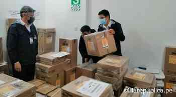 Amazonas: ODPE Chachapoyas inició despliegue de material electoral - LaRepública.pe