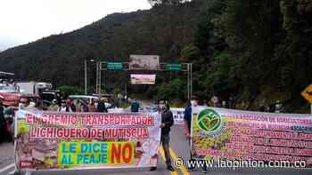 Mutiscua se opone al peaje   Noticias de Norte de Santander, Colombia y el mundo - La Opinión Cúcuta