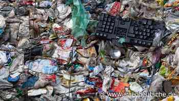 Millionen Tonnen Abfall landeten in Sachsens Natur - Süddeutsche Zeitung