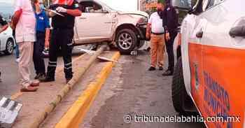 Dos lesionados, por choque en La Floresta - Noticias en Puerto Vallarta - Tribuna de la Bahía