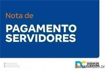 PREFEITURA DE DUQUE DE CAXIAS PAGA ANTECIPADAMENTE FOLHA DE MAIO PARA EDUCAÇÃO - Defesa - Agência de Notícias