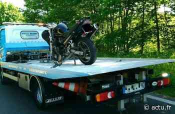 Près d'Yvetot, un jeune motard contrôlé à 165 km/h au lieu de 80 - actu.fr