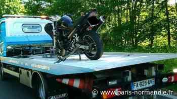Près d'Yvetot, un motard contrôlé à 165 km/h sur une route limitée à 80 km/h - Paris-Normandie