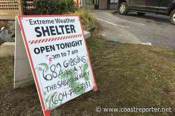 Gibsons applies for grant to secure permanent winter shelter location, funding - Coast Reporter