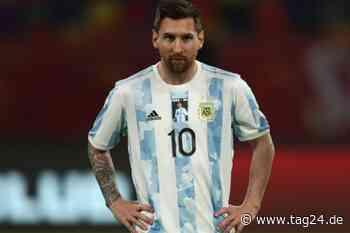 Lionel Messi trägt Trikot mit Bild von Diego Maradona: Statue in Argentinien enthüllt - TAG24