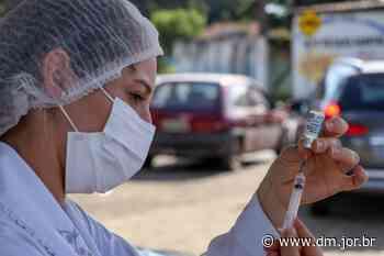 Senador Canedo começa a vacinar profissionais da educação acima de 18 anos contra a Covid-19 - DM.com.br