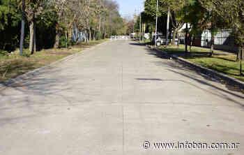Dos nuevos pavimentos terminados en Los Polvorines - InfoBan