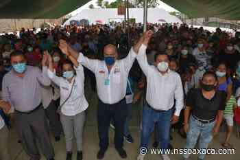 Líderes de izquierda de Pueblo Nuevo respaldan a Javier Villacaña para Presidente Municipal - www.nssoaxaca.com