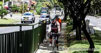 La ciclorruta de la avenida Las Vegas llegará hasta Envigado - El Colombiano