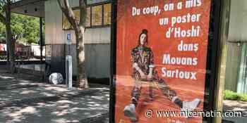 Discriminée, l'artiste Hoshi s'affiche à Mouans-Sartoux - Nice-Matin