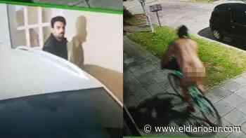 Un hombre se paseó desnudo en bicicleta por Banfield y desconcertó a un vecino - El Diario Sur