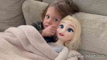 Jason Aldean's Son Memphis Is Obsessed With His Life-Size Elsa Doll - iHeartRadio