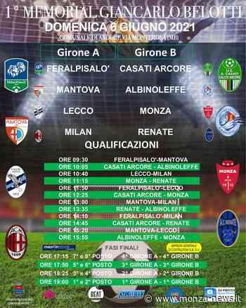 Calcio in Brianza: il 6 giugno il 'Memorial Giancarlo Belotti' ad Arcore, la Casati ospita sette squadre Pro (tra cui il Monza) nella categoria 2008 - Monza-News