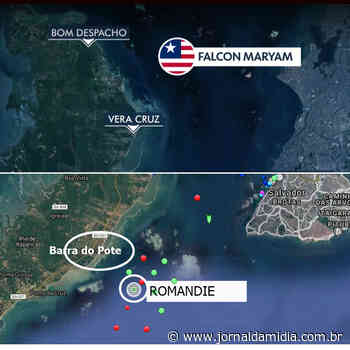 Ilha de Itaparica: dois navios internacionais com infectados cumprem quarentena no mar entre Bom Despacho e Vera Cruz. - Jornal da Mídia