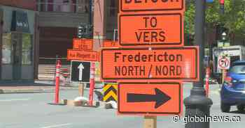 Fredericton businesses prepare to weather construction season - Global News