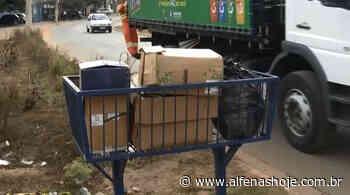 Empresa se propõe a manter itinerário para coleta seletiva - Alfenas Hoje