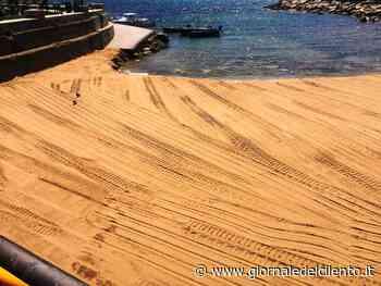 Castellabate, pulizia spiagge sulla costa di Benvenuti al Sud - Giornale del Cilento - Giornale del Cilento
