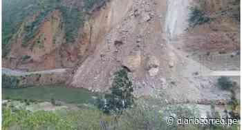 Derrumbe bloquea 200 metros de vía que comunica a Huancayo con Huancavelica y Ayacucho - Diario Correo