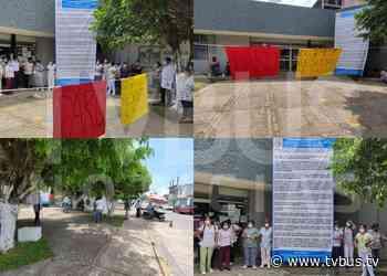 """""""Toman"""" hospital ISSSTE en Tuxtepec para exigir construcción de uno nuevo - TV BUS Canal de comunicación urbana"""