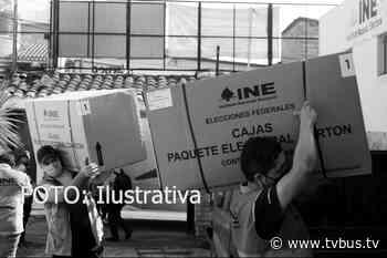 IEEPCO de Tuxtepec, empieza a distribuir las más de 122 mil boletas electorales - TV BUS Canal de comunicación urbana