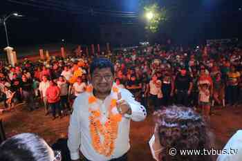 Noé Ramírez Chávez ya se ganó el voto y confianza de Tuxtepec - TV BUS Canal de comunicación urbana