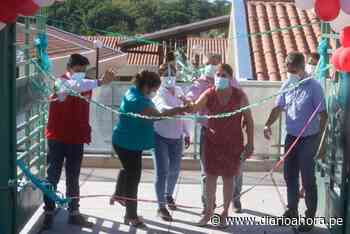 Inauguran nuevo colegio en Uchiza - DIARIO AHORA