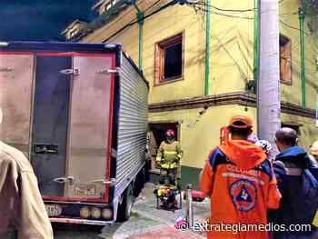 Bomberos y Defensa Civil de Sopó atendieron accidente en el Centro del municipio - Extrategia Medios