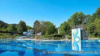 Badespaß ab 12. Juni - Freibad Schiltach/Schenkenzell bereitet sich auf Öffnung vor - Schwarzwälder Bote
