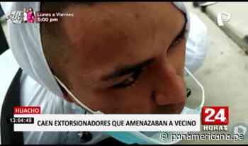 Huacho: capturan a extorsionadores con dinero y drogas - Panamericana Televisión