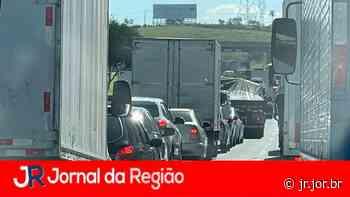 Acidente causa congestionamento na Bandeirantes | JORNAL DA REGIÃO - JORNAL DA REGIÃO - JUNDIAÍ